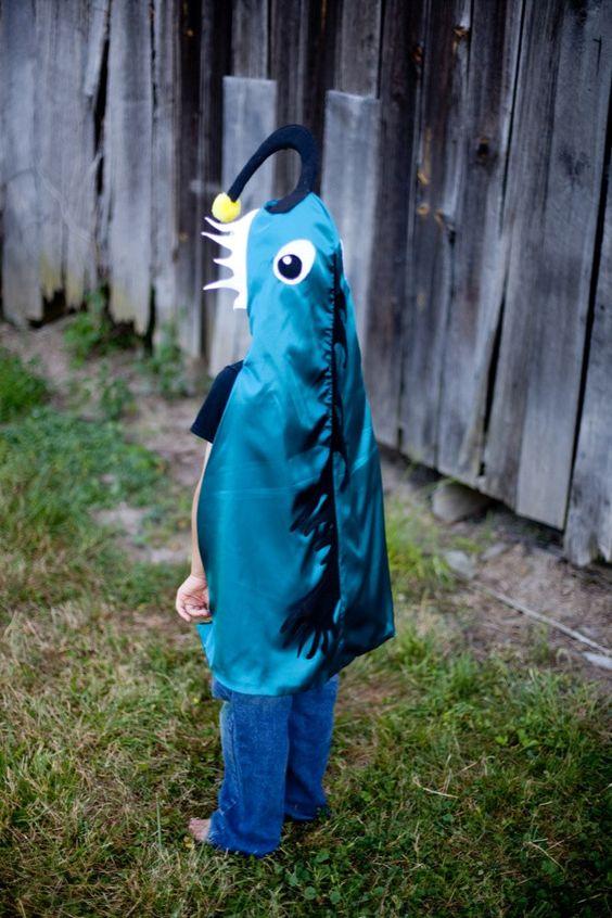Fish costume angler fish and deep sea on pinterest for Angler fish costume