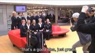 Air France's first all-female crew flight.  Why shouldn't women be pilots, too.  Watch the video at http://www.youtube.com/watch?feature=player_embedded=IbY8LuhX7Cc.