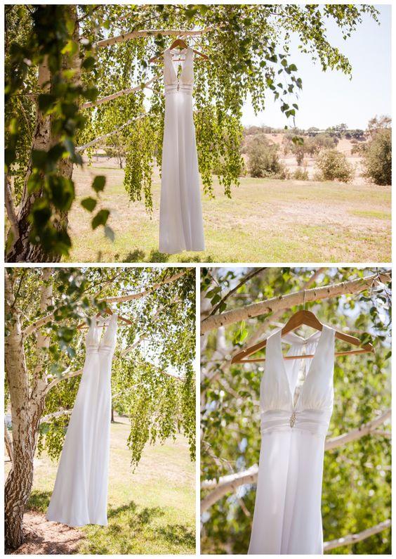 Santa Ynez California Small Vineyard and Private Farm Wedding Photography -  Dress in Aspen Tree  Boutique Destination Wedding Photography by Paul & Jewel - International Lifestyle Photographers