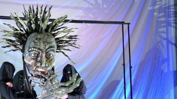 "george jenisch ""Prometheus"" als Figurentheater: ""Manifest des Leidens"" | Landsberg"