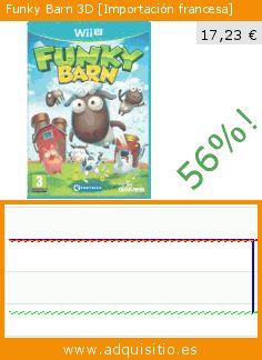 Funky Barn 3D [Importación francesa] (Videojuegos). Baja 56%! Precio actual 17,23 €, el precio anterior fue de 39,50 €. https://www.adquisitio.es/505-games/funky-barn-3d-importaci%C3%B3n