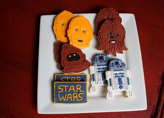 Amazing Star Wars Cookies from the Talented Cookie on Etsy! LOVE THEM!