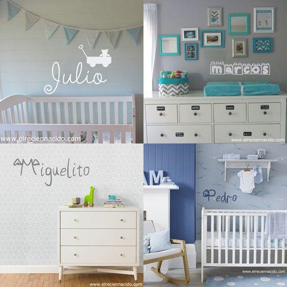 Para decorar la habitación de tu hijo, ya sea niño, niña o bebé el ...