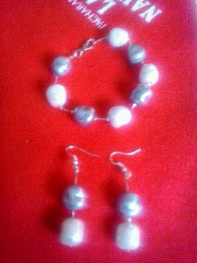 Conjunto perlas de barrocas.