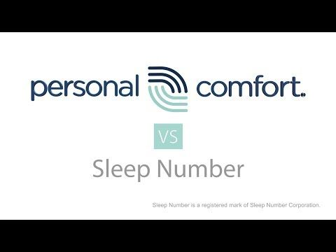 Sleep Number Bed Comparison By Select Comfort Vs Personal Comfort