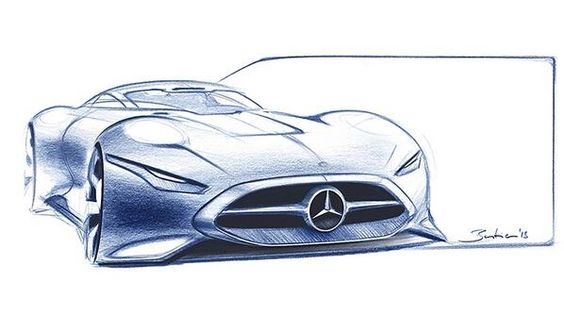 Mercedes Benz Mira el proceso de diseño de #MercedesBenz #AMG Vision #GranTurismo