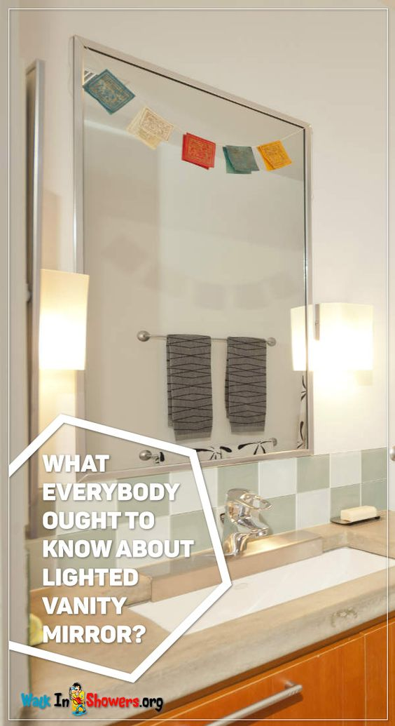 10 Stylish Ideas For Your Lighted Vanity Mirror ~ http ...