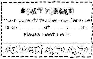 What the Teacher Wants!: Parent Teacher Conferences