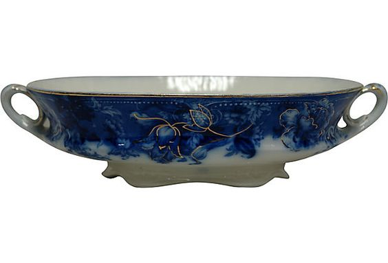 "Wedgwood Serving Bowl Wedgwood & Co. Ltd serving bowl in Royal Lemi Porcelain. Made in England in the ""Glytie"" pattern."