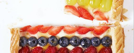 French fruit flan