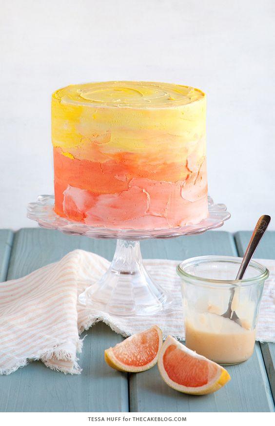 Pink grapefruit, Grapefruit cake and Light olive oil on Pinterest