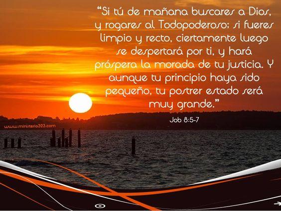Job 8:5-7