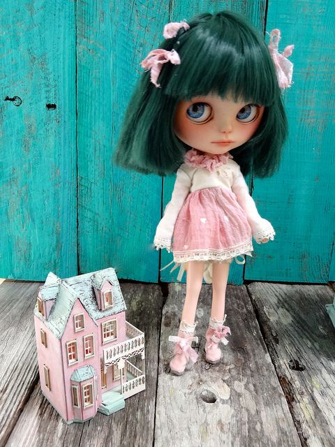 Bell and mini dollhouse | Flickr - Photo Sharing!