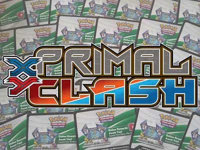 Primal Clash ONLINE CODE Pokemon Online TCG XY