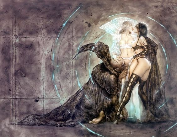 Luis Royo / Prohibited Book III | Shachar's Galleries