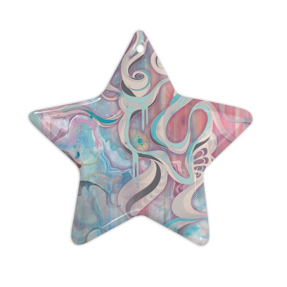 "Mat Miller ""Tempest"" Ceramic Star Ornament"