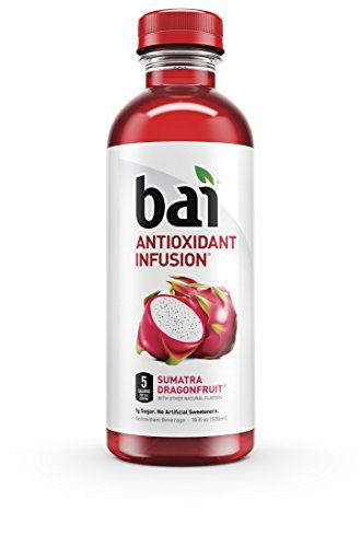 Bai Sumatra Dragonfruit, Antioxidant Infused Beverage, 18 Ounce (Pack of 6) ** Read review @ http://www.amazon.com/gp/product/B00XVTEZCQ/?tag=healthstor05-20&pza=260716160147