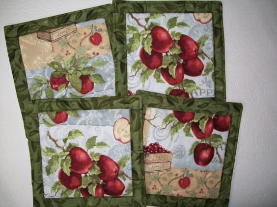 Hot Pads Orchards And Pots On Pinterest