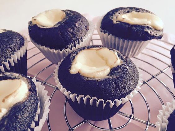 Rezepte mit Herz ♥: Double Chocolate Cheesecake Muffins a la Starbucks