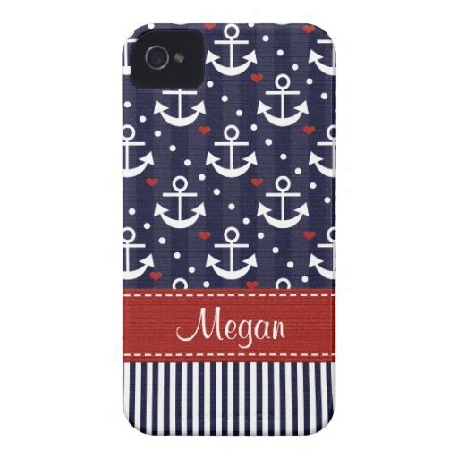 Anchor iPhone 4  4s Case Mate Cover Nautical Case-mate Iphone 4 Cases