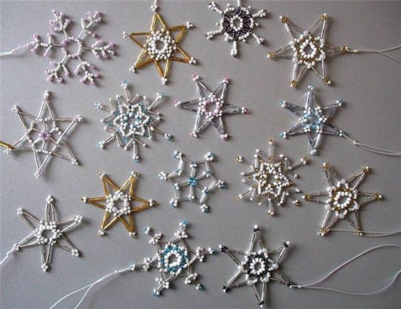 Beaded Snowflake inspirations