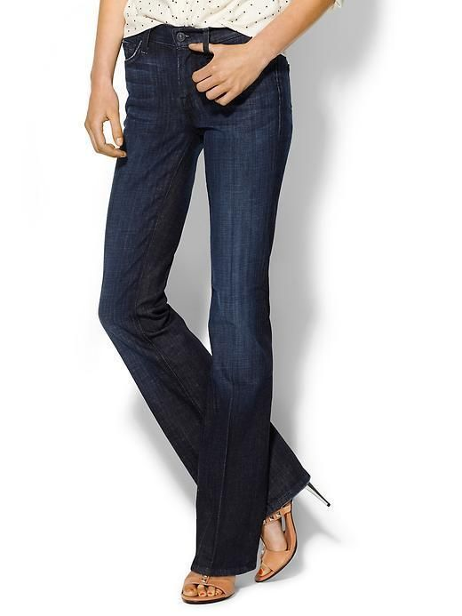 New Ladies 7 For All Mankind Stretch Bootcut Jeans Womens Size 29