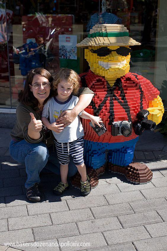 LEGOLAND with medically-needy kids!