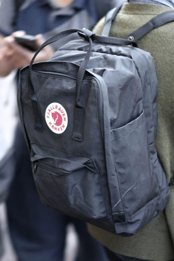 Fjallraven Kanken Backpack Bags Etc Pinterest Grey