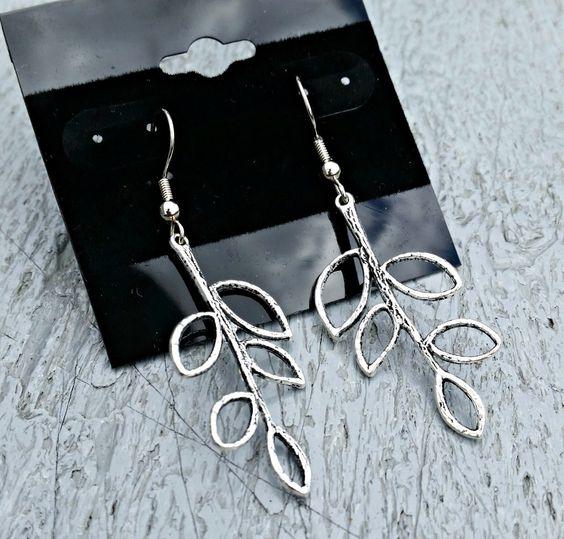 Delicate Branch Earrings