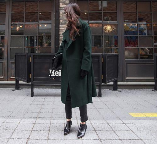 manteaux chambre habiller mini mode les manteaux dhiver des femmes longs manteaux vtements dhiver vert fonc vert noir