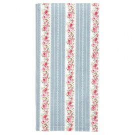 GreenGate Autumn/Winter 2014 Teatowel Nigella Blue 50 x 70 cm