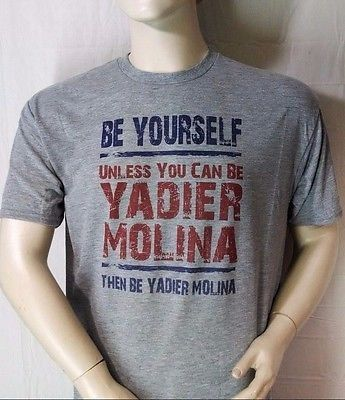 THE YADIER MOLINA SUPERSTAR SHIRT PERFECT FOR THE BIGGEST FAN