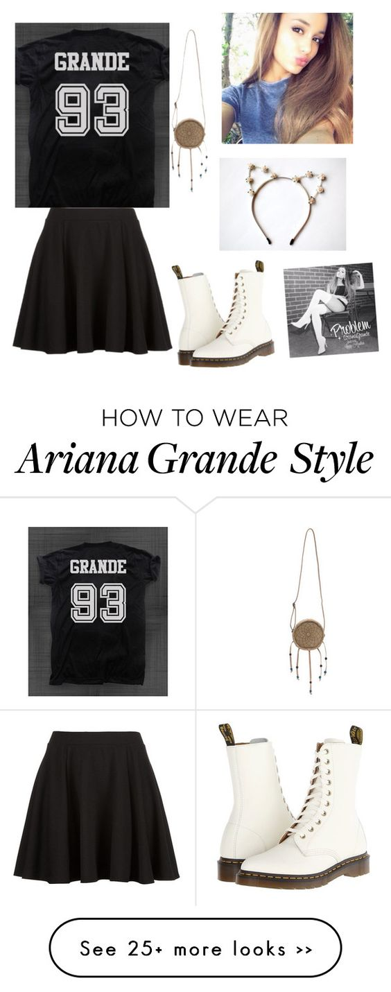 """""""Day out with Ariana Grande"""" by mintyme75 on Polyvore"""
