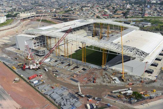 MTE diz que não se omitiu na supervisão do Itaquerão | #CopaDoMundo2014, #EstádioDoCorinthians, #Fiscalização, #Interdições, #Itaquerão, #MTE