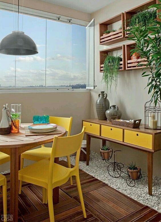 Inspiração ♡ #interiores #design #interiordesign #decor #decoração #decorlovers #archilovers #inspiration #ideias #varanda #terraço
