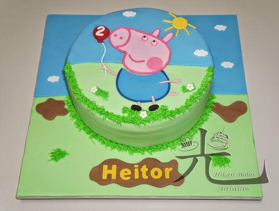 Hikari Bolos Artísticos: Peppa Pig