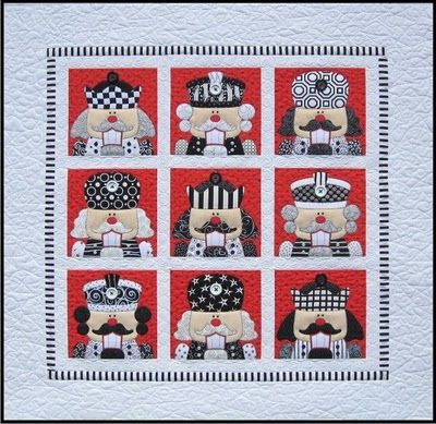 Amy Bradley Designs: Merry Christmas Pattern variation (repeated only the nutcracker block)