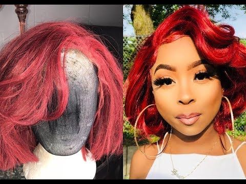 Part 2 How To Make A Synthetic Wig Look Human Styling Youtube Wigs Synthetic Wigs Hair Tutorial