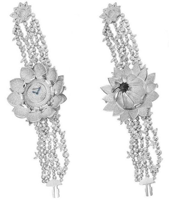 Chopard Lotus Blanc Watch Ref. 104420-9001
