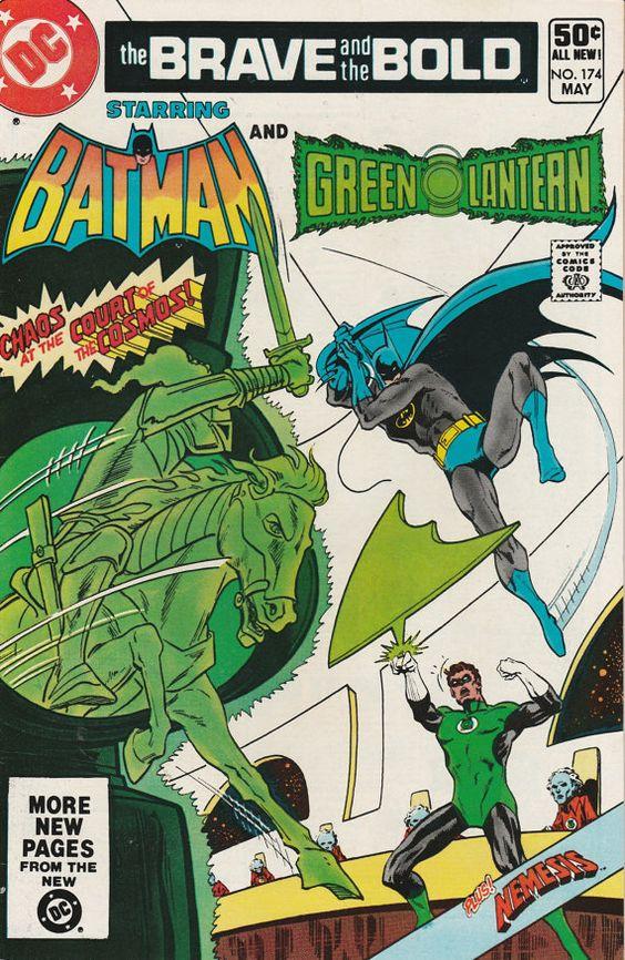 Brave & the Bold Vol. 27 No. 174  1981  Batman and Green Lantern by TheSamAntics