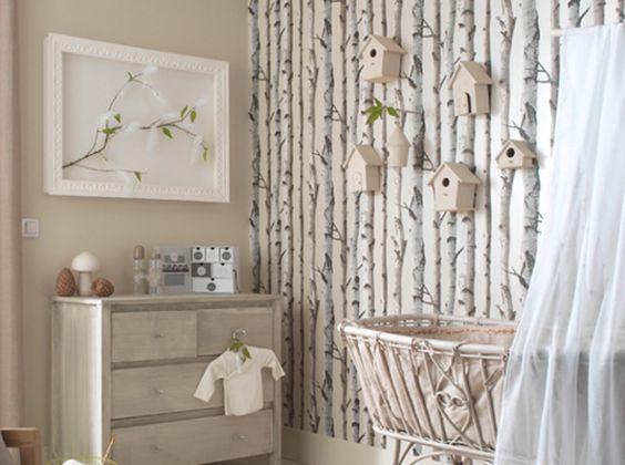 la branche d arbre comme papier peint plusieurs grandes marques de d coration ont elles aussi. Black Bedroom Furniture Sets. Home Design Ideas