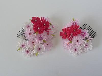 「つまみ 細工 桜」の画像検索結果