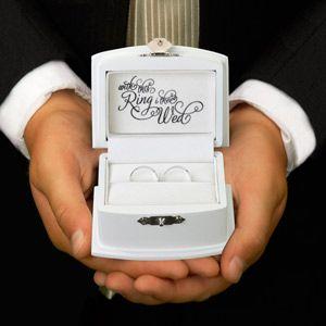WeddingDepot.com ~ Ring Presentation Box ~