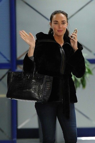 hermes leather bags - SO Black Croc Birkin (Modeled by Tamara Ecclestone) | Hermes ...