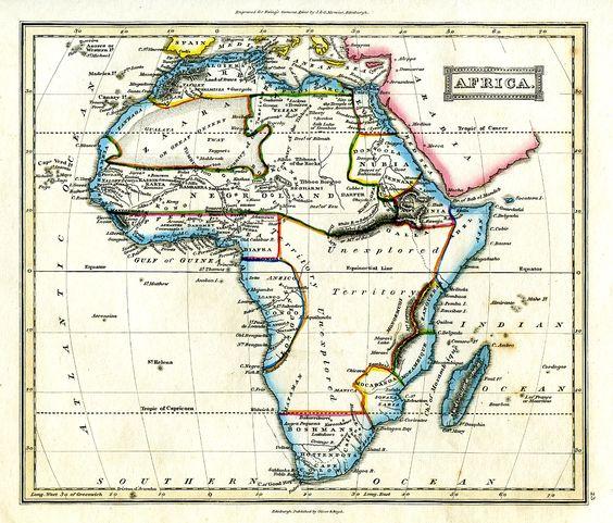 Las rutas en África de A. Tinne