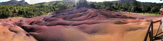 Seven Coloured Earth @ Chamarel, Mauritius