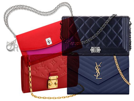 Ysl Wallet On Chain Vs Chanel Yves St Laurent Bag