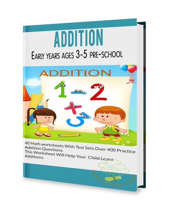 math worksheet : maths addition worksheets for early years ages 3 to 5 years old  : Early Addition Worksheets