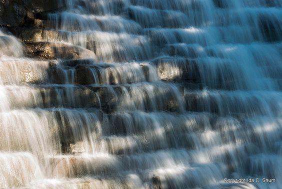 Water Falling,San Ramon, California, US