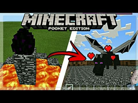 How To Spawn A Baby Ender Dragon In Minecraft Pocket Edition Youtube Minecraft Seeds Pocket Edition Minecraft Ender Dragon Minecraft Pocket Edition